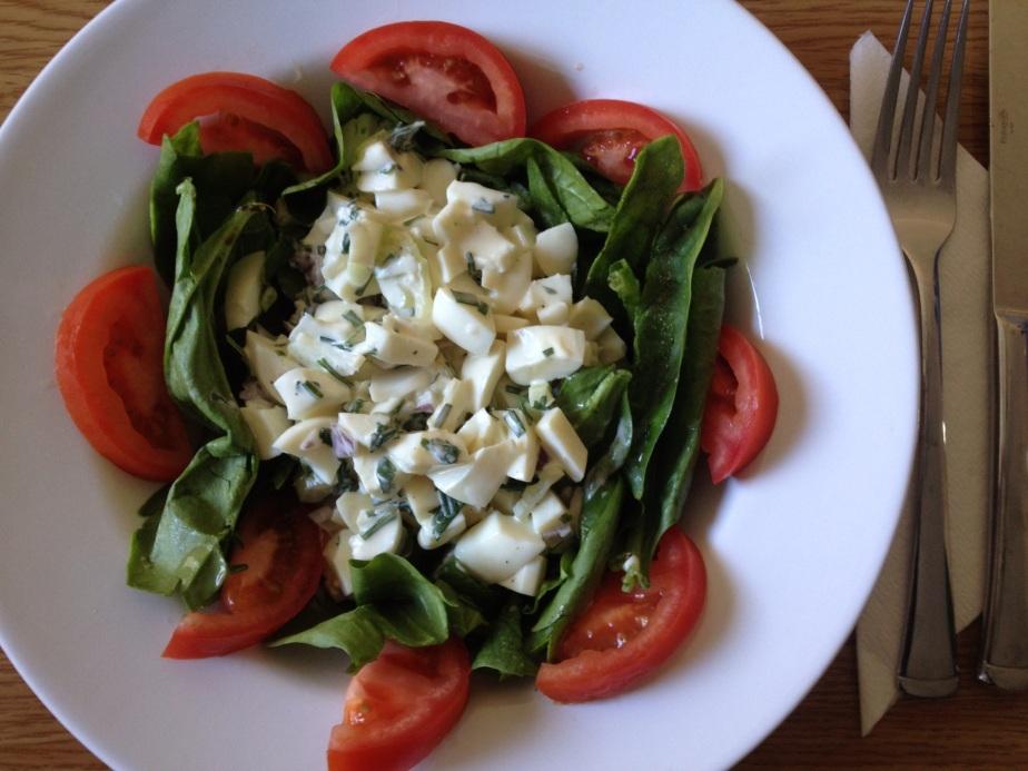 Egg Salad Blanc