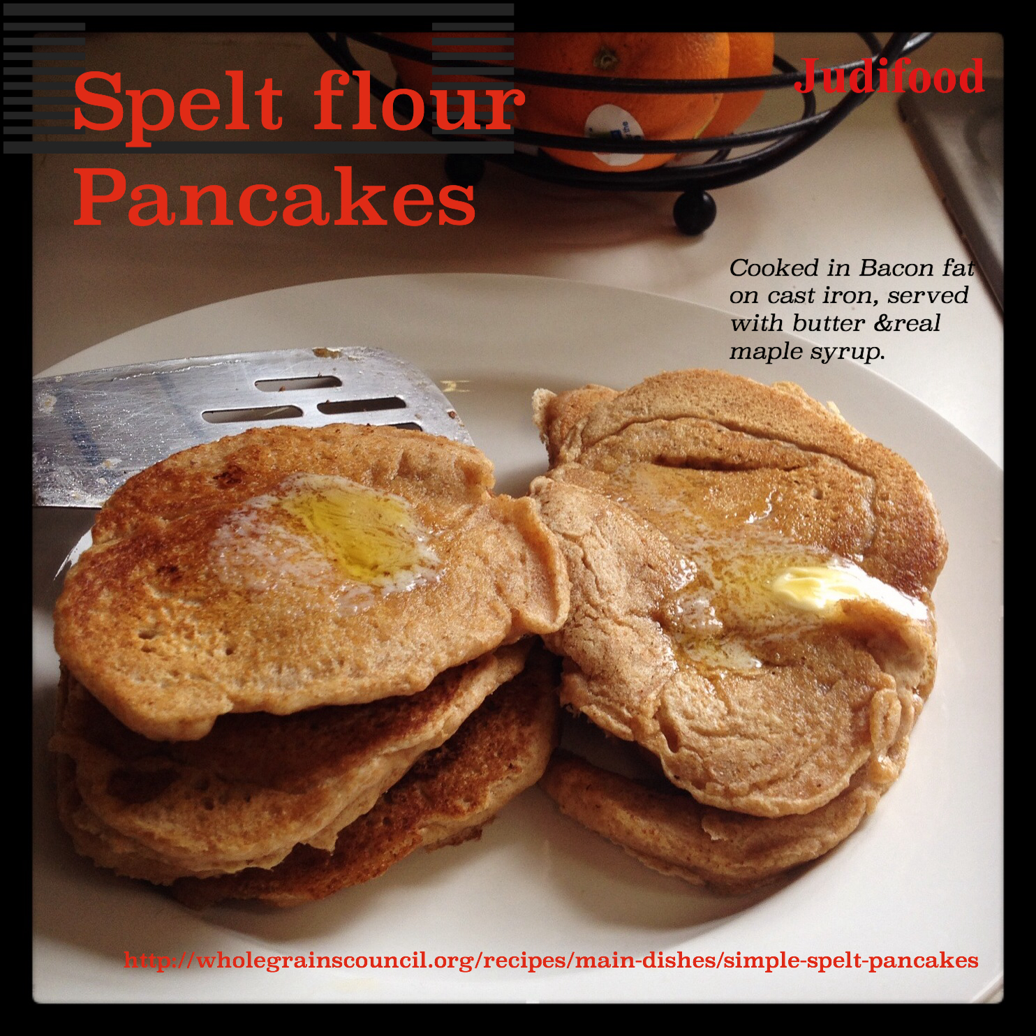 recipe: spelt flour pancakes [22]